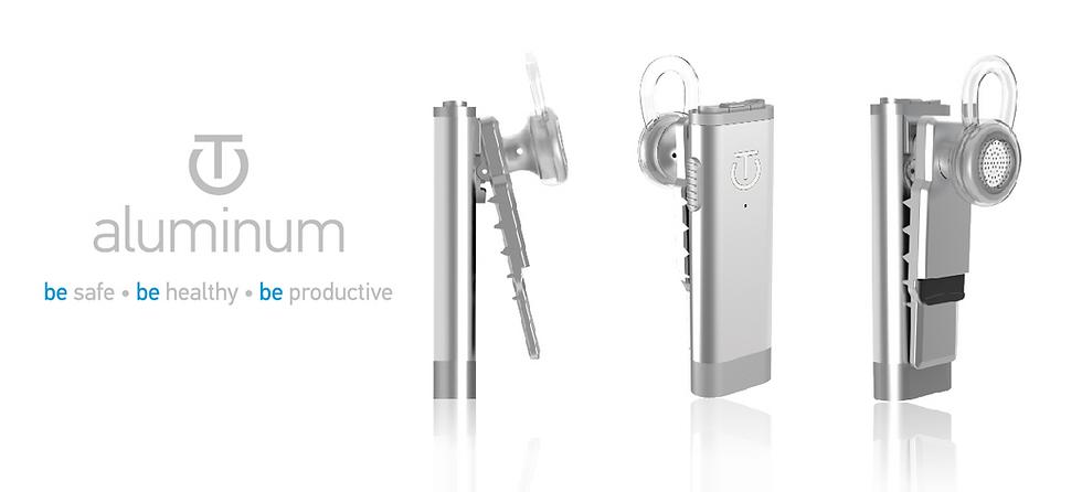 aluminum Bluetooth® Headset