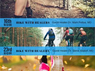 September Hike, Bike & Run With Healers