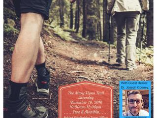November Hike With Healers