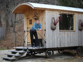 Shepherd Huts: A Unique Office Space