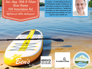 August Paddle With Healers