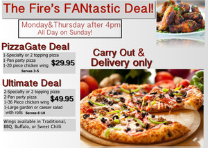 FANtastic Deal at The Fire!