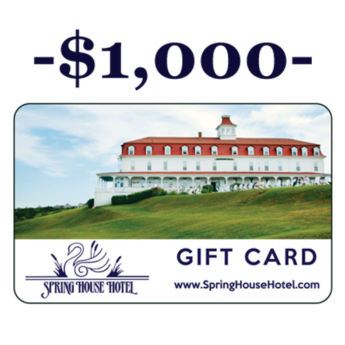 $1,000 Spring House Hotel Gift Card