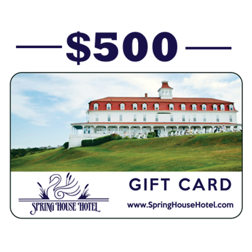 $500 Spring House Hotel Gift Card