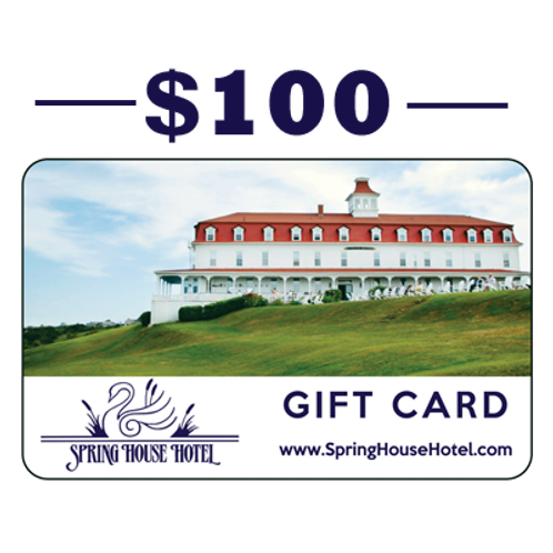 $100 Spring House Hotel Gift Card