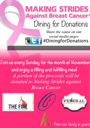 Dining for Donations