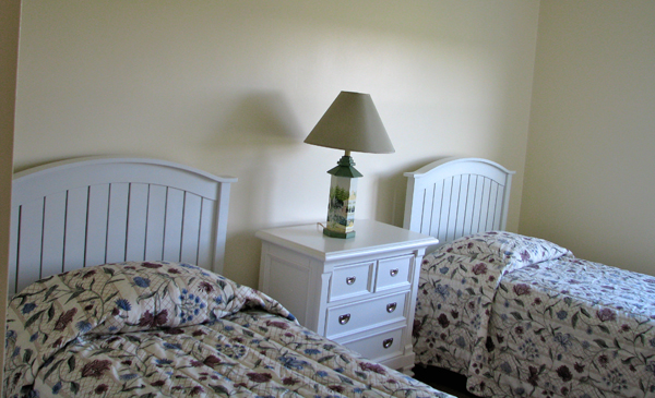 Guest room two twins