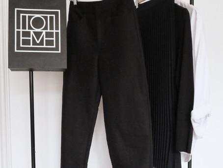 The black trouser