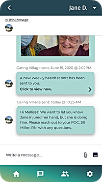 Messages New Message M Caring Village.pn