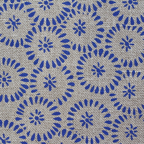 Coupon lin bio de Normandie • Soleil bleu vif