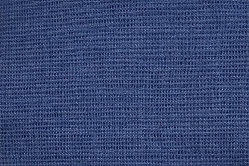 Coupon de lin de normand EMBRIN bleu - Imprimé au choix