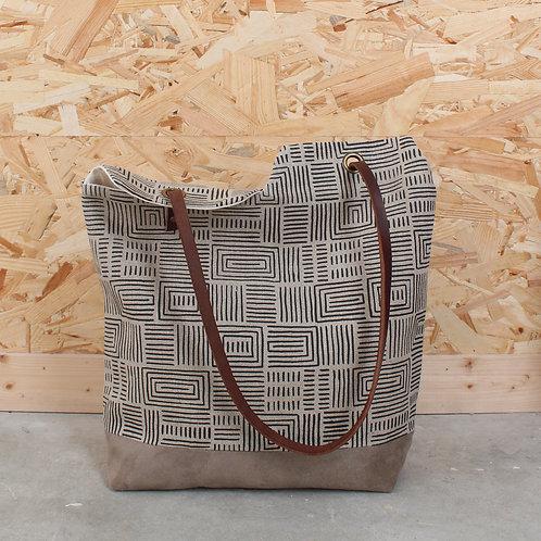 Atelier impression + couture du sac Pacot