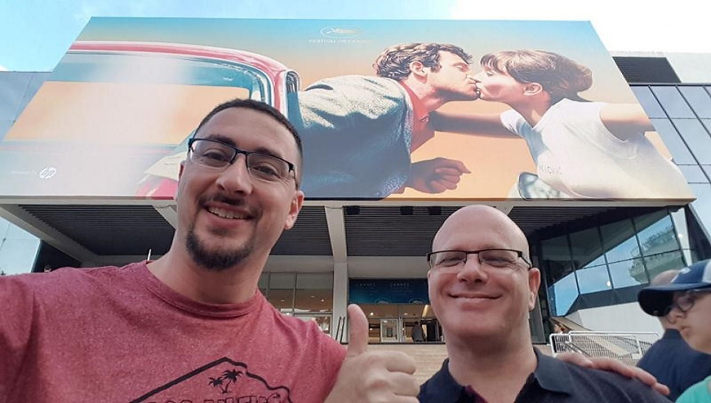 Alon and Matan at Cannes FF 2018