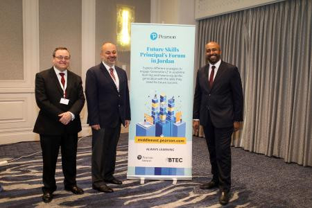 Pearson hosts Future Skills Principal's Forum in Jordan