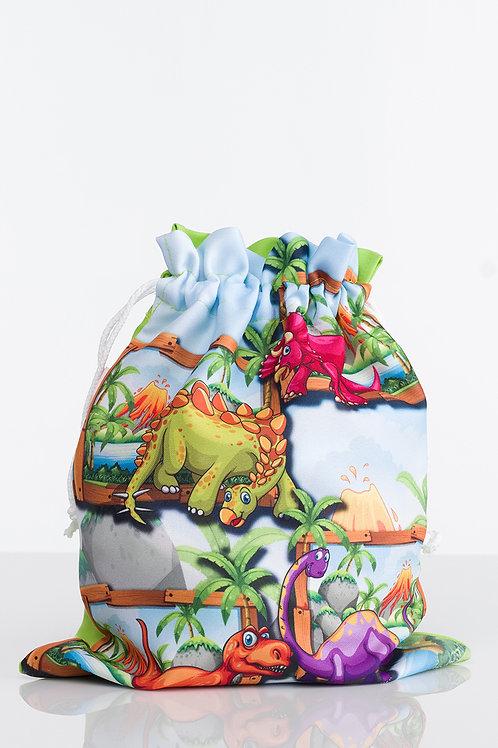 """Bolsa niño pack 2 """"Dinosaurios"""""""