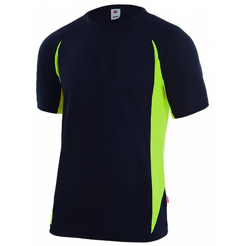 Camiseta técnica bicolor.