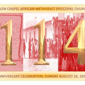 114 Church Anniversary PM Service
