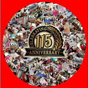 115 Year Anniversary