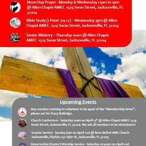 This Week @ Allen Chapel