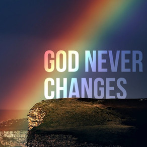 Sermon: God Never Change