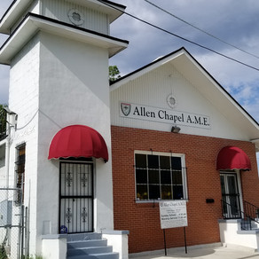 Come Celebrate 112 years of Allen Chapel AME Church on 8/27 @ 4pm