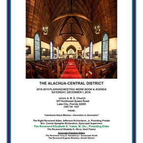 Alachua-Central Planning Meeting Booklet 2018-2019