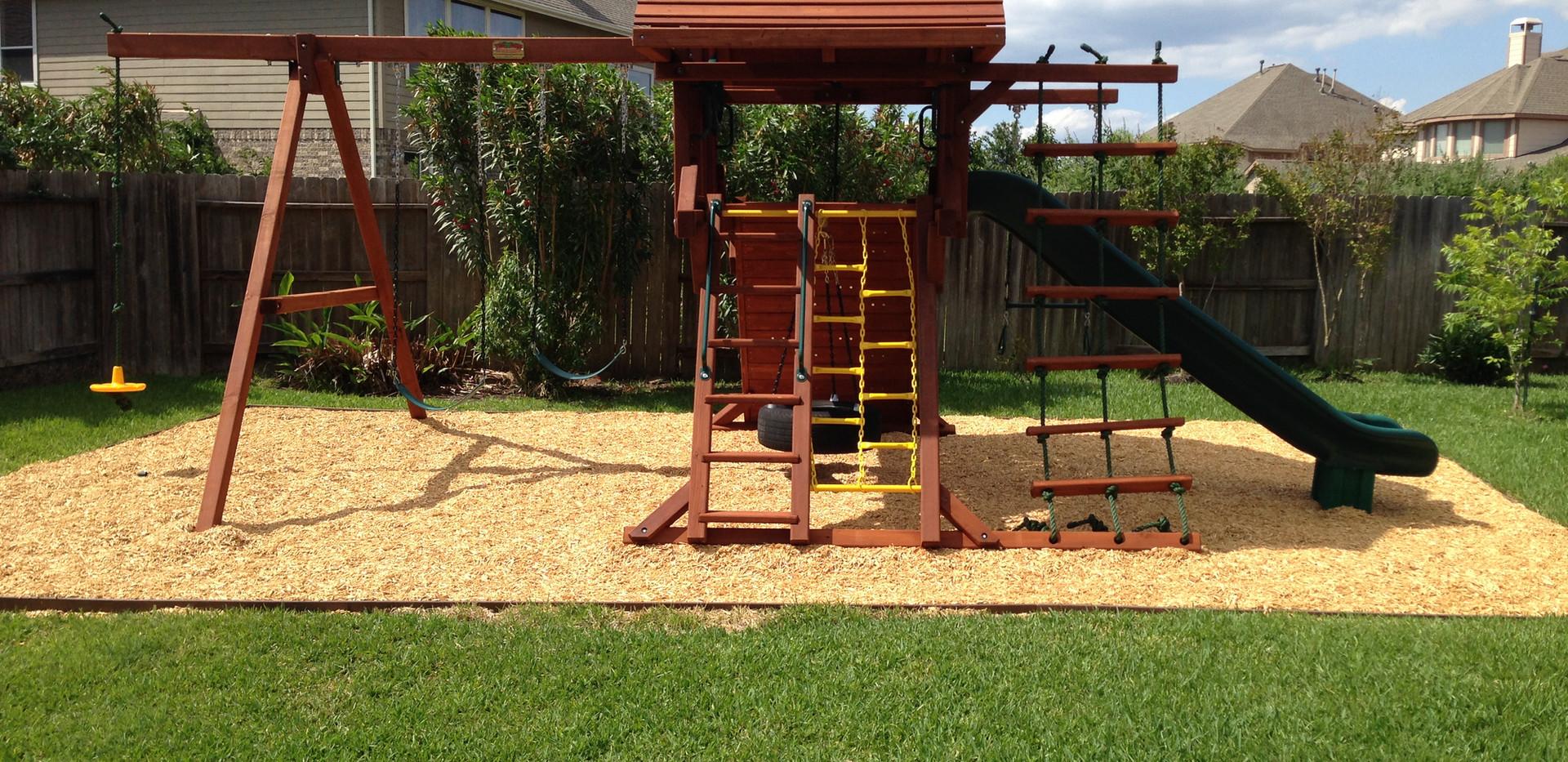 Playground Set Up