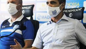 Rogério Zimmermann é apresentado no Clube Esportivo