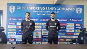 Clube Esportivo anuncia dois novos goleiros