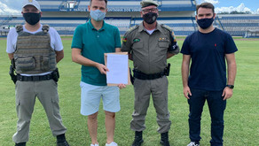 Estádio Montanha dos Vinhedos recebe alvará de segurança do 3º BPAT