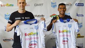 Clube Esportivo apresenta primeiros reforços para temporada 2021