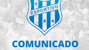 COMUNICADO: troca no comando técnico do Clube Esportivo