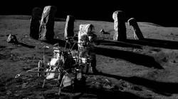Дольмен на Луне