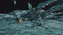 Звездолёт на Луне