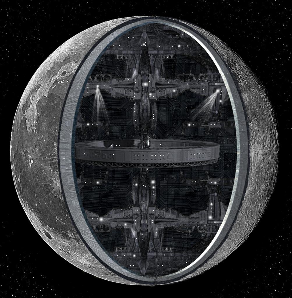 Полая Луна