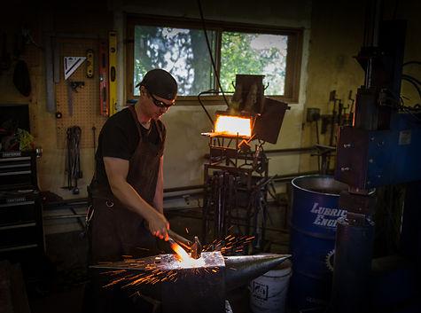 Samuel J. Welch, Artisan Blacksmith | Whitefish, Montana