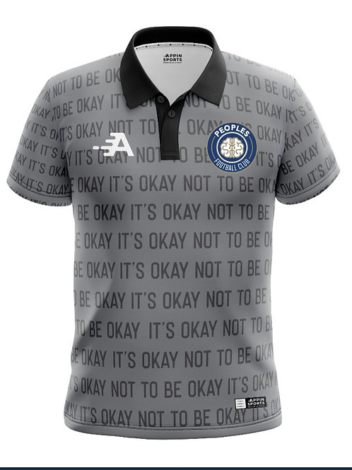 The Peoples fc polo shirt