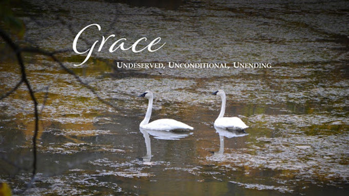 Grace: Undeserved, Unconditional, Unending