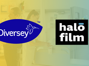 Diversey and Halomine Announce a Strategic Alliance to Drive the Halofilm™ Technology Globally