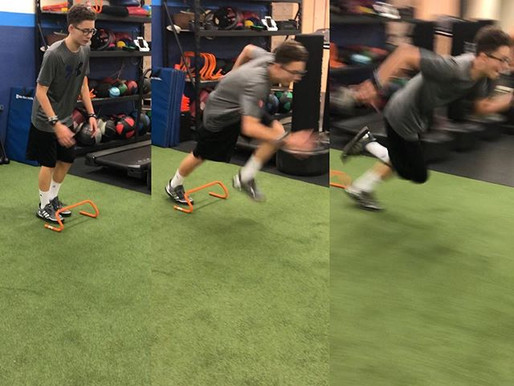 Linear speed and acceleration training