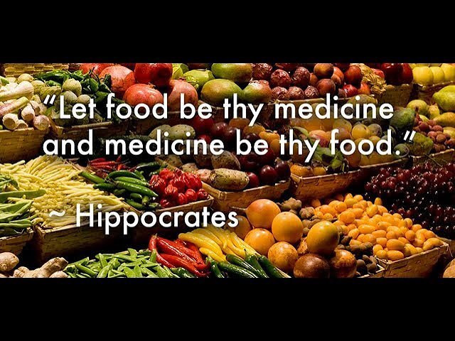 Food itself is the best medicine of all