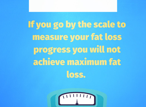 Weight loss doesn't = Fat loss