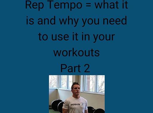 Rep tempo part 2