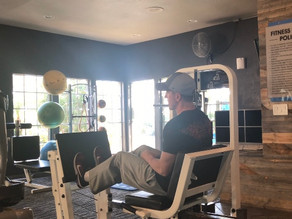 Varying foot placement on the leg press
