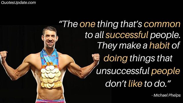 The difference between those that are successful and those that aren't in their fitness goals is consistency.