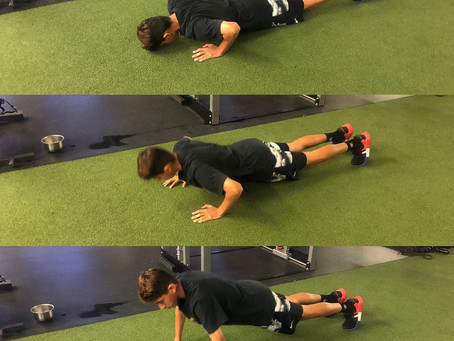Perfecting the push-up