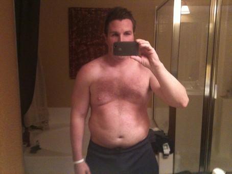 Dan Eiden's own fat loss body transformation (2011)