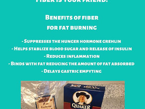 Fiber for Fat Loss