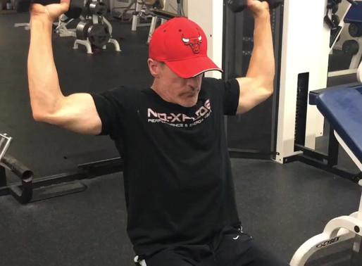 Deltoid/Rotator cuff combo exercise