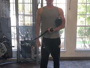 Shoulder external rotation exercise mistakes